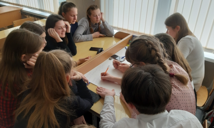 Young people of Miory District took part in the development of strategic directions for the development of the region